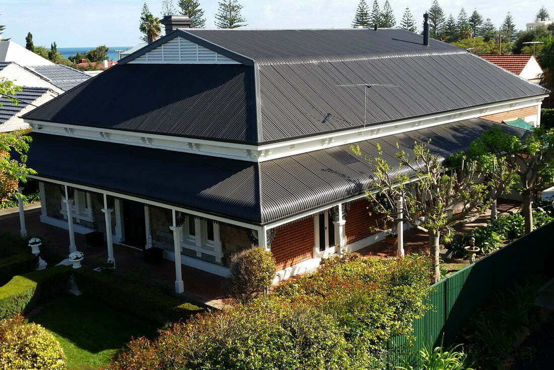 Iron Roof Restoration Ultimate Roofing Amp Guttering
