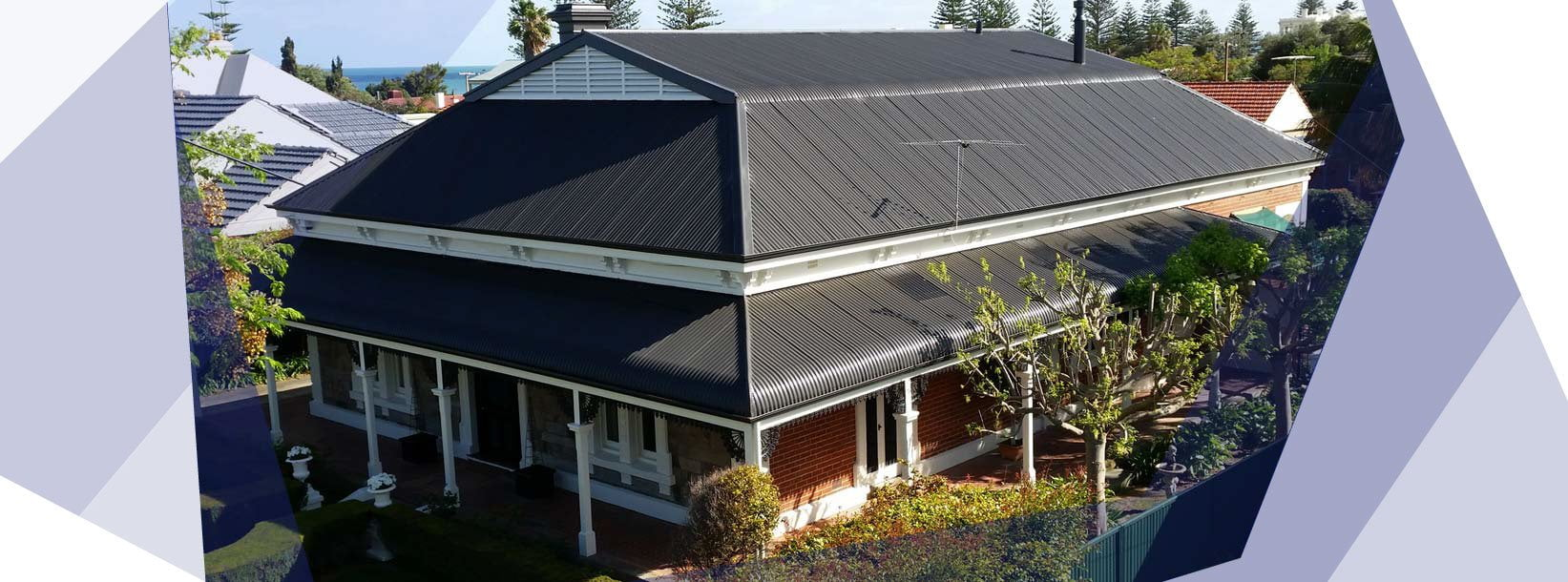 Home Slider Largs Bay Aerial View Ultimate Roofing